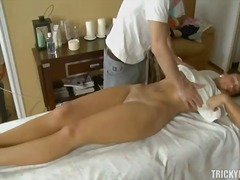 Taming fuckbox after hot massage
