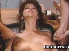 Kristina king a retro double penetration hook-up