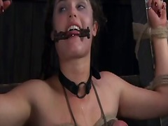 Stormy flogging for lusty chick