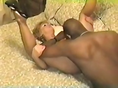 cuckold, vintage, dude, video, interracial, big, black, wife, cock, another, mature, more