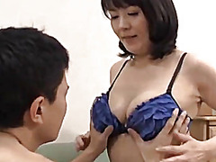 mature, japanese, threesome, asian