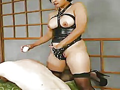 Strapped and clothespin torture inside female domination vid not far from mika tan