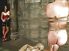 Moth sitting and insert rod torturing inside sadism female domination movie about sandra romain
