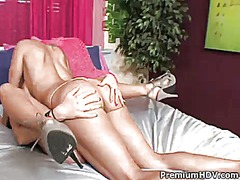 Francesca le gets her slit licked outrageously by ivy winters