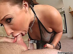 Jonni darkko makes his pulsating schlong disappear in horny ashli orions mouth