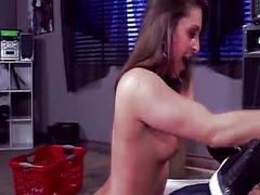 Lesbie gracie glam has rimjob by lizz tyler