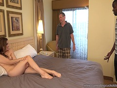 Kasey warner pumelled and creampied by a bbc