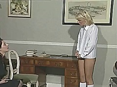 Lesbo headmistress and her fun pt 1